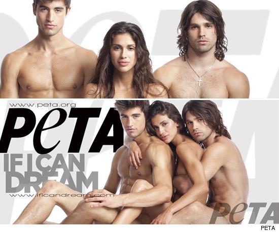 PETA Nudists.