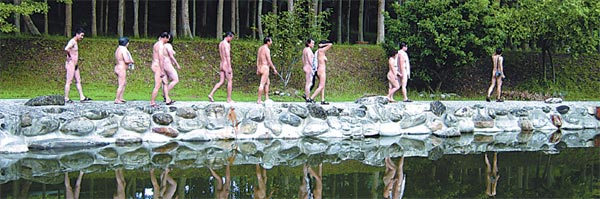 Nudist Zones in China (at least zones exist . . .)