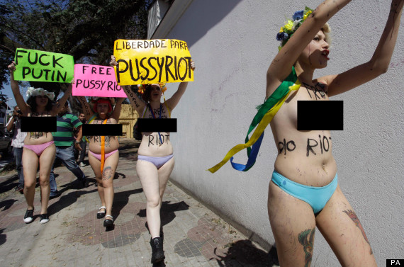 Pussy Riot - Russia.